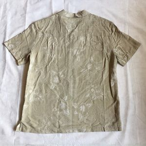 03424a83d2994 Island Shores Men's Short Sleeve Beige Shirt XXL NWT